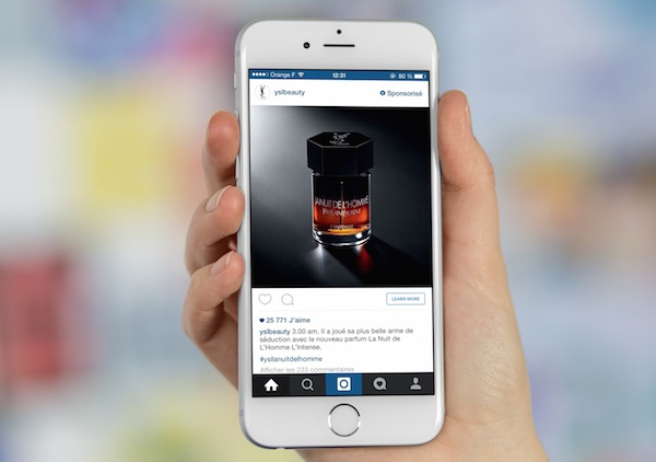 Instagram Publicite iPhone