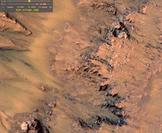 eau sur Mars 1