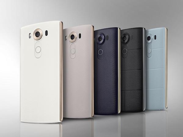 LG V10 Arriere