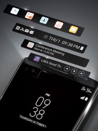 LG V10 Second Ecran
