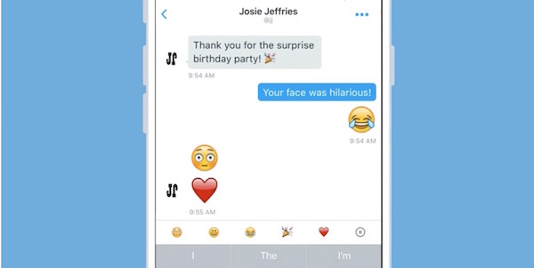 Twitter Grands Emojis Messages Prives