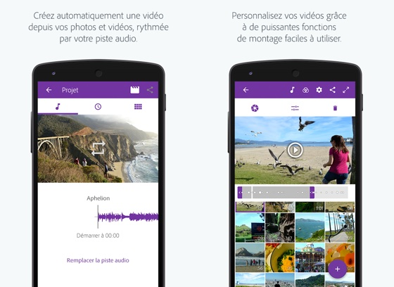 Adobe Premiere Clip Application Android