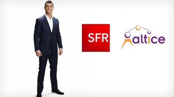 Cristiano Ronaldo Ambassadeur SFR