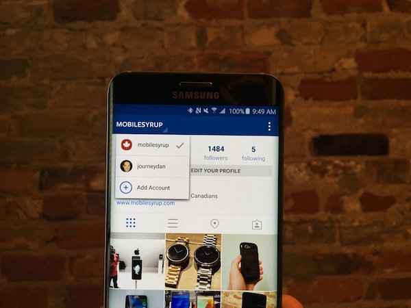 Instagram Multi Compte Android