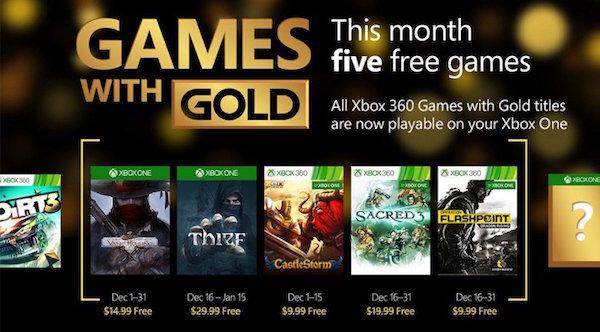 Jeux Xbox One Xbox 360 Offerts Decembre 2015