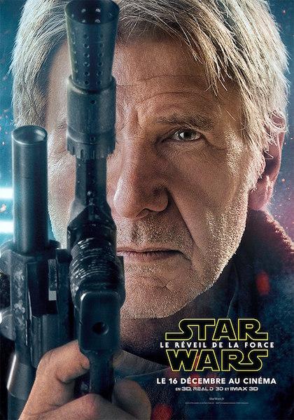 Star Wars Reveil Force Affiches Acteur 4