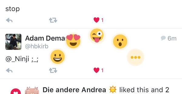 Twitter J'aime Emoji