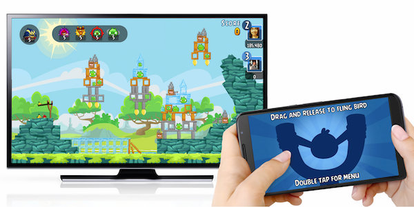 Angry Birds Chromecast