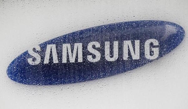 Samsung Logo Pluie