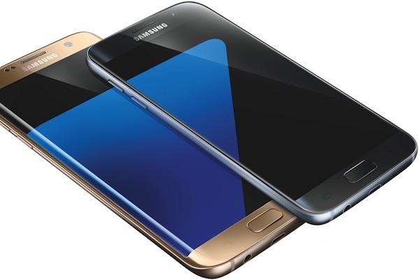 Galaxy S7 Galaxy S7 Edge Gris Or Rendu Presse