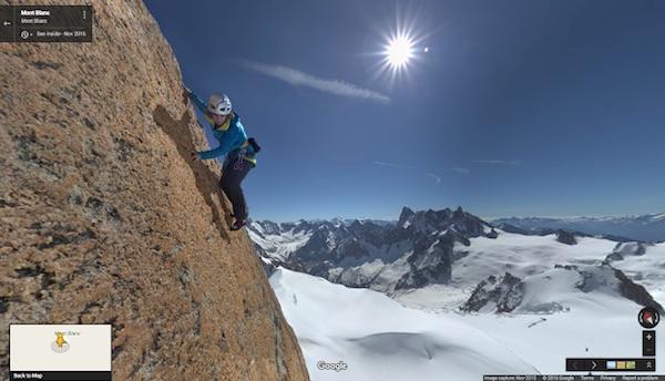 Mont Blanc Street View