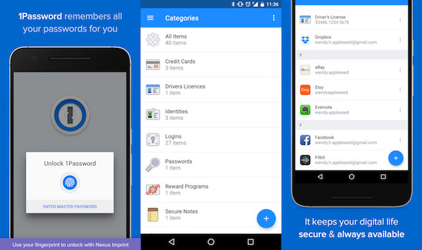 1Password 6 Application Android