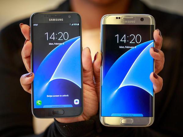 Galaxy S7 Galaxy S7 Edge Avant
