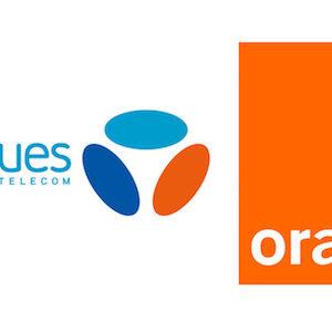 Orange Bouygues Telecom Logos