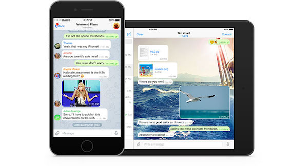 Telegram Application iPhone iPad