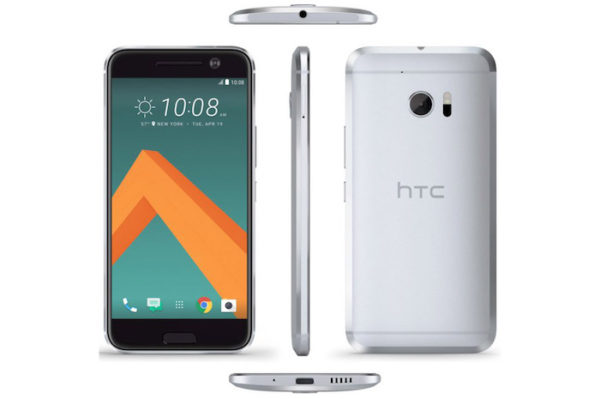 HTC 10 Avant Arriere Promotionnel