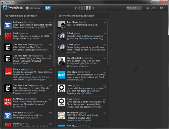 TweetDeck Windows
