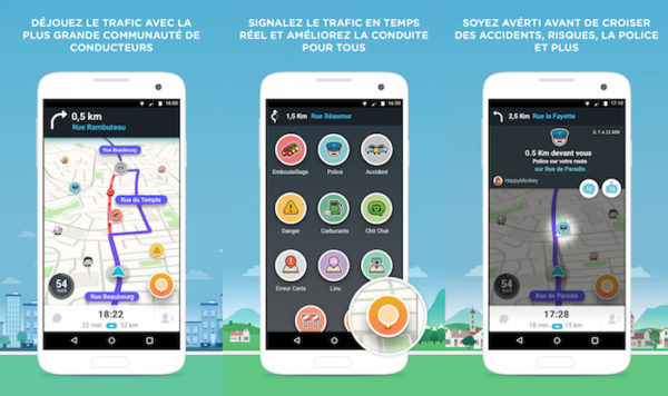 Waze 4.0 Application Android