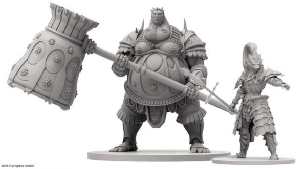 Dark Souls board game figurines
