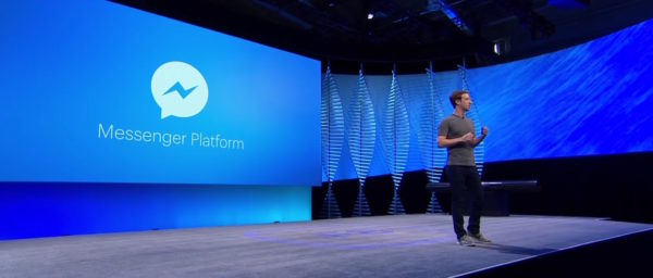Facebook Messenger Plateform Zuckerberg