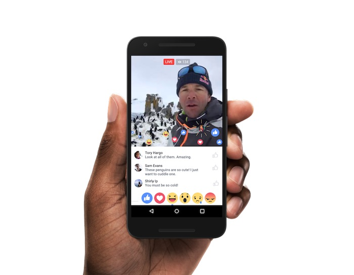 Facebook Video Direct Reaction