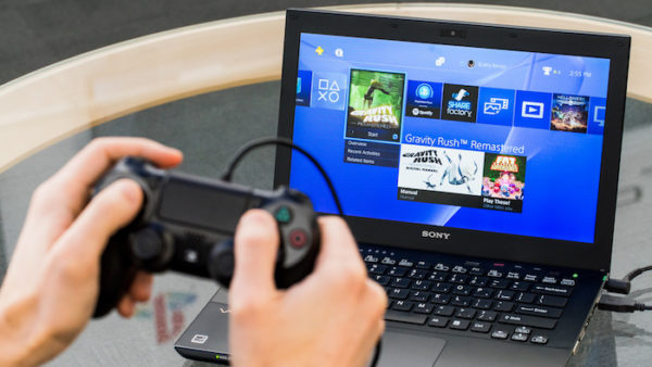 Remote Play Jeu PlayStation 4 Streaming PC