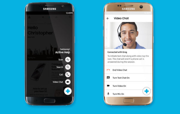 Samsung Galaxy S7 Controle Distance