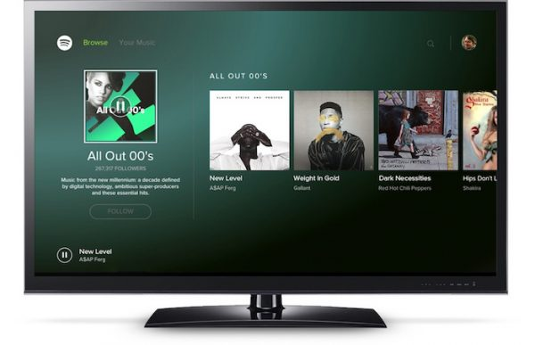 Spotify Application Android TV