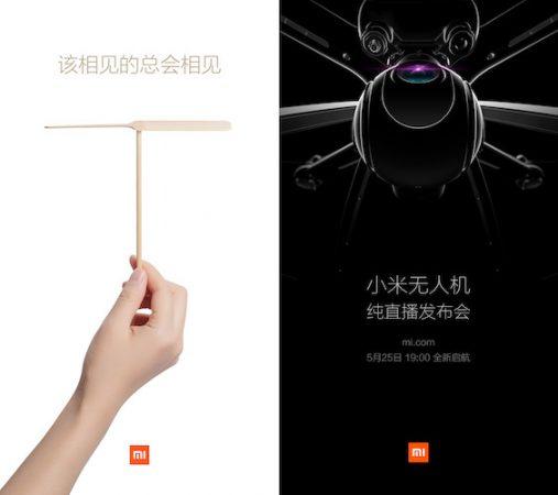 Teaser Drone Xiaomi