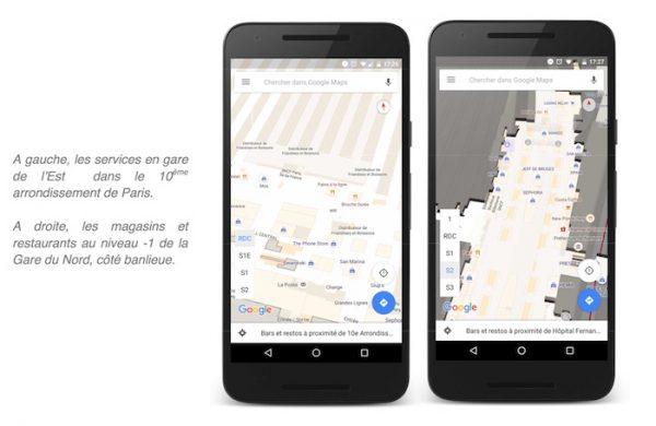 Google Cartographie Gares SNCF