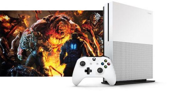 Xbox One S Fuite Debout