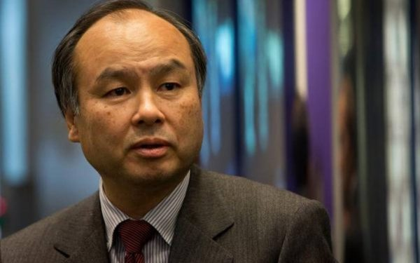 Masayoshi Son, president and CEO of Softbank Corp.