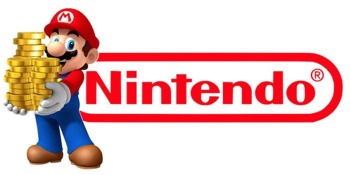 Nintendo Logo Argent