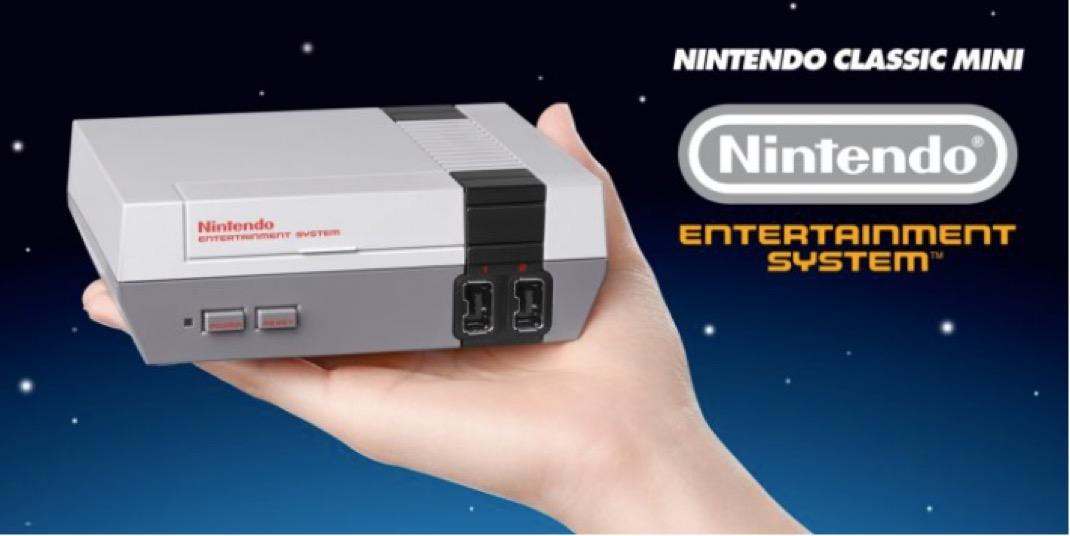 Nintendo mini classic NES