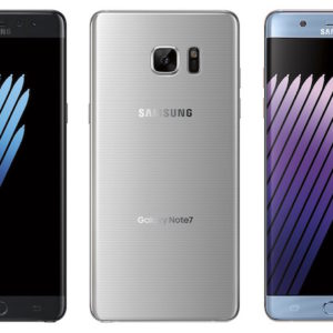 Samsung Galaxy Note 7 Officiel Avant Arriere