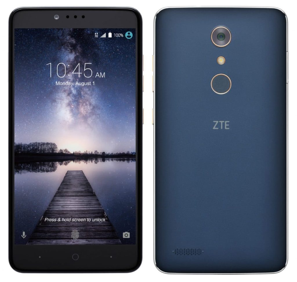 zte zmax pro video She was too