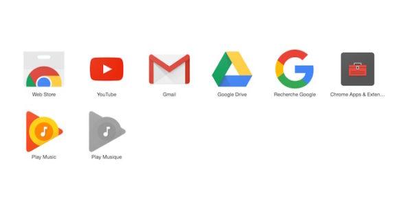 Applications Chrome