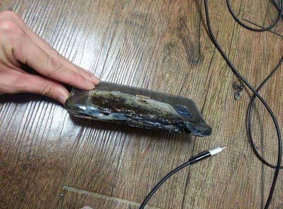 Galaxy Note 7 Explose 2