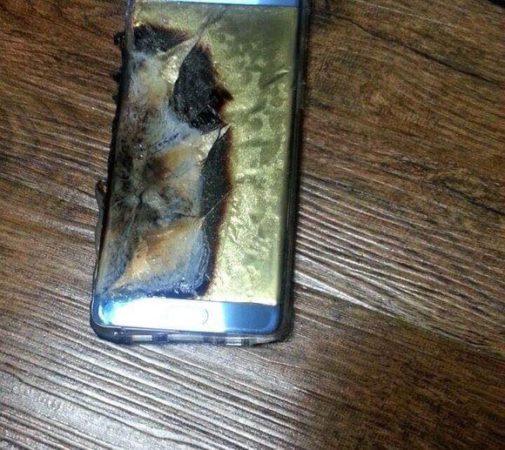 Galaxy Note 7 Explose 3