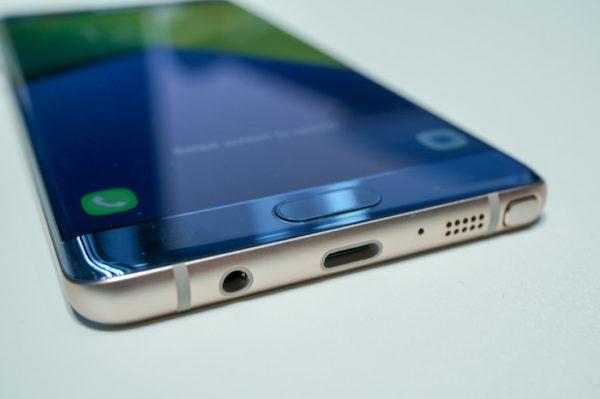 Galaxy Note 7 Inferieur Port USB C