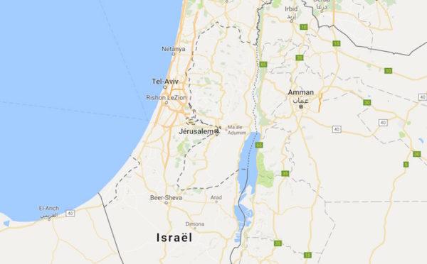 Google Maps Israel Palestine