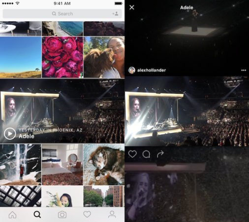 Instagram Regroupement Videos Evenements Majeurs