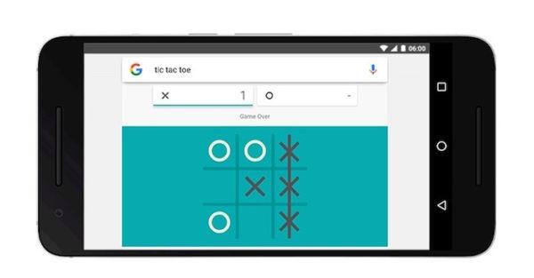 Morpion Recherche Google