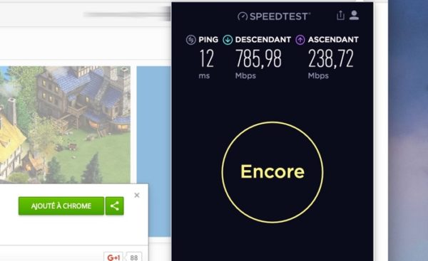 SpeedTest Extension Chrome