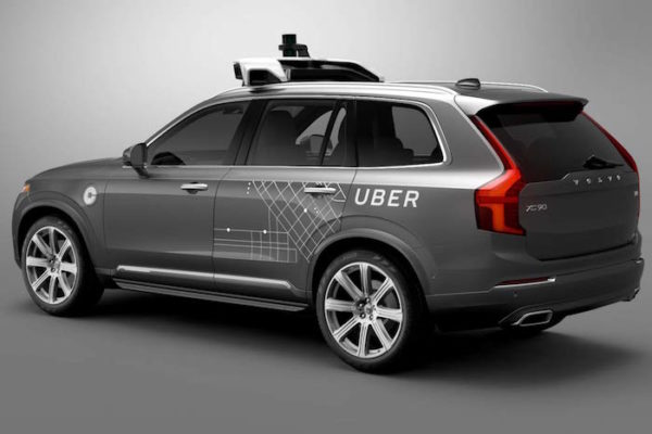 Uber Volvo Autonome