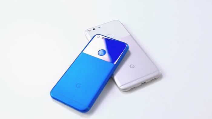 google-pixel-bleu-google-pixel-xl-blanc