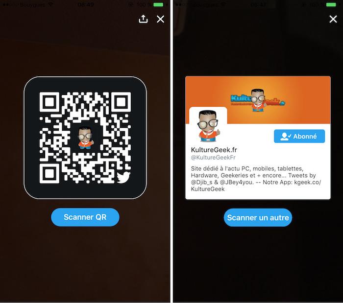 twitter propose de cr u00e9er des qr codes pour partager facilement son compte
