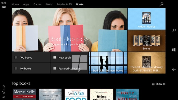 fuite-windows-10-ebooks-store