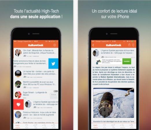 nouvelle application gratuite pour iphone 4