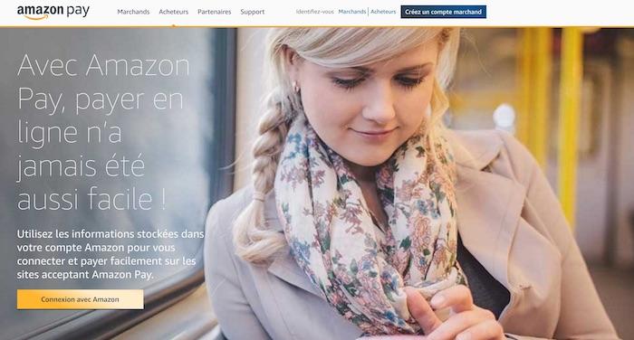 amazon lance amazon pay en france pour payer sur les sites marchands tiers kulturegeek. Black Bedroom Furniture Sets. Home Design Ideas